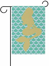LINDATOP Meerjungfrauen-Fischwaage, 30,5 x 45,7