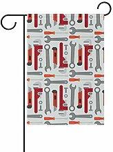 LINDATOP Werkzeugkoffer, flaches Design, 30,5 x