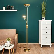 Lindby - Josefin - LED-Stehlampe mit Leseleuchte,