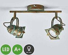 LINDBY LED Deckenleuchte 'Janek' (Retro,