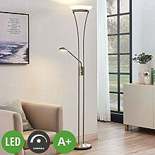 Lindby LED Stehlampe 'Amadou' dimmbar