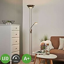 Lindby LED Stehlampe 'Josefin' dimmbar