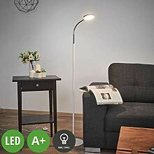 Lindby LED Stehlampe 'Milow' (Modern) in