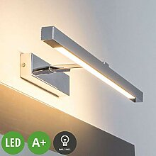 LINDBY LED Wandleuchte, Wandlampe Bad