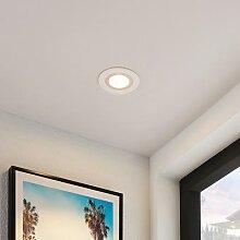 Lindby Noor LED-Einbaustrahler RGBW, weiß