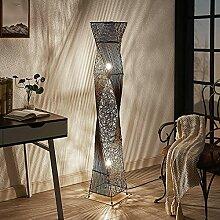 Lindby Rattan Stehlampe | Stehleuchte Höhe 150 cm