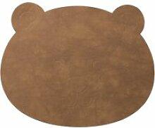LindDNA - Kinder-Tischset Bär, Nupo natur