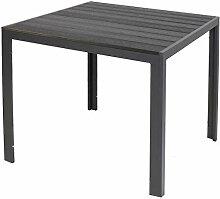 LINDER EXCLUSIV Gartentisch Aluminium Polywood Non