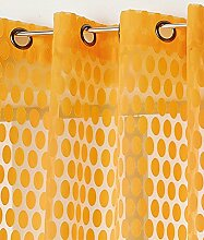 Linder Schlaufenschal mit 8Öse Polyester 140x