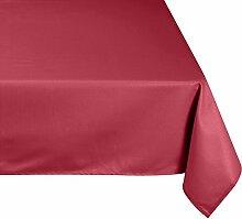 LINDER Tischdecke rechteckig Picnic, rosa, 160 x