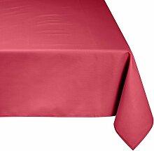 Linder Tischdecke rechteckig Picnic, rosa, 160 x 300 cm