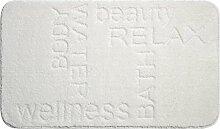 Linea Due 3D Badteppich 100% Polyester, ultra