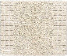 Linea Due Badteppich, 100% Baumwolle, 50 x 60 cm,