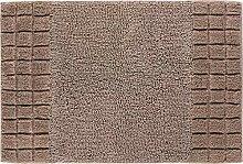 Linea Due Badteppich, 100% Baumwolle, 70 x 120 cm,