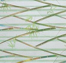 LINEA Fix Dekorfolie statische Fensterfolie Bambus