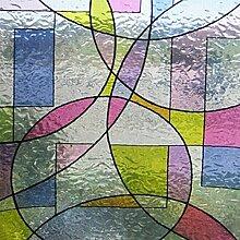 Linea fix® Fensterfolie GLS 4652 Buntglas Dekor -