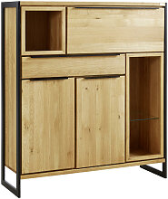 Linea Natura HIGHBOARD Wildeiche massiv