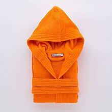 Linea Oro Bademantel Basic Baby 8/10 anni orange