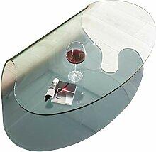 Linea Vetro Cueno Couchtisch, Glas, 125x75x40 cm