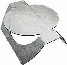 Linea Vetro Roma Couchtisch Glas 100x76x35 cm