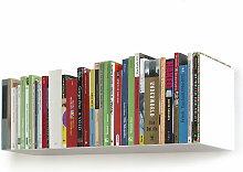 linea1 - a Bücher- und DVD-Regal, weiß