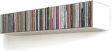 linea1 - b CD-Regal, weiß