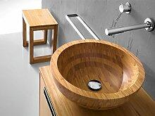 Lineabeta Holzwaschbecken Aufsatzwaschbecken