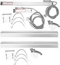 Linear Skala, Präzise Linear Glas Skala Aluminium