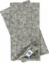 Linen & Cotton 4 x Jacquard Damast