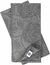 Linen & Cotton 4 x Jacquard Stoffservietten