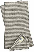 Linen & Cotton 4 x Luxus Stoffservietten Bjorn,