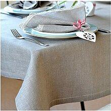 Linen & Cotton Elegante Festliche Tischdecke Stoff