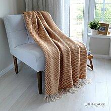 Linen & Cotton Flauschige, Weiche und Warme Decke