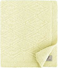 Linen & Cotton Krabbeldecke Wolldecke Gestrickt
