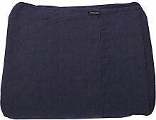 Linenme, Bettlaken mit Gummizug aus cobaltblauem