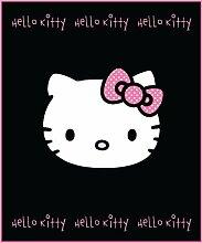 Linens Limited Zap Hello Kitty Bows Fleece