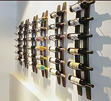 Linex Weinregal an der Wand | Weinregal aus Holz