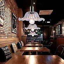 LINGDIANFA- amerikanischen Continental minimalistischem Nordic kreative Glas-Deckenleuchte warmes Schlafzimmer Balkon Gang Lichter Lampe Hallenbeleuchtung