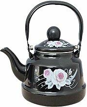 Linghua Teekessel aus Emaille, antike Glocke, für