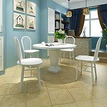 Lingjiushopping 4Stück Stühle Esstisch rund