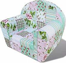 Lingjiushopping Sessel für Kinder mit Blumen Typ
