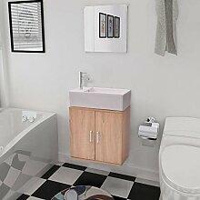 Lingjiushopping Set 3Stück Möbel Badewanne und