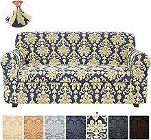 LINGKY Sofa Sofabezüge 2-teiliger Jacquard Damast