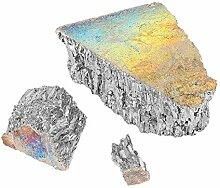 Lingote Chunk Bismuto-1000 g Metall Bismut 99,99 %