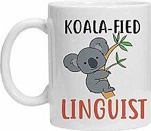 Linguist Tasse – Koalafied Linguist – Lustige