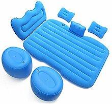 LINGYAO aufblasbares Bett mit PVC-Beflockung,