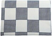 LINGZHIGAN Diamond Square Grid Tischdecke Stoff Art Einfache rechteckige Tee-Tabelle Hochzeit Restaurant Party Tisch (Dieses Produkt verkauft nur Tischtücher) ( größe : 135*180cm )