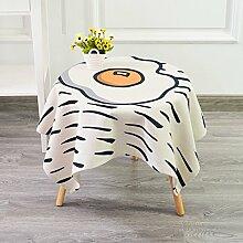 LINGZHIGAN Plus Dick Tischdecke Baumwolle Hanf Stoff Art Einfache rechteckige Tee-Tabelle Hochzeit Restaurant Party Tisch (Dieses Produkt verkauft nur Tischtücher) ( größe : 140*200cm )