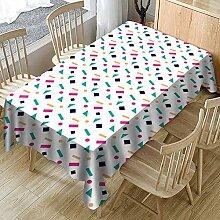 LinkLvoe Tischdecken Dekor,Tischdecken Polyester
