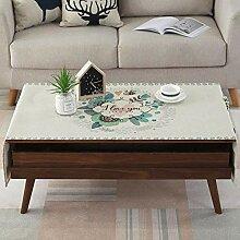 LinkLvoe Weihnachten Tischdecke,Textil Rechteckig